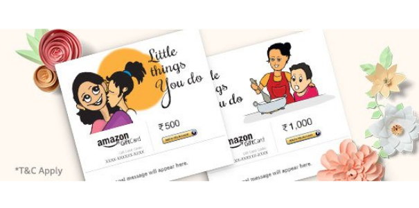 Prime Members Get 10 Off On Gift Cards Omgtricks