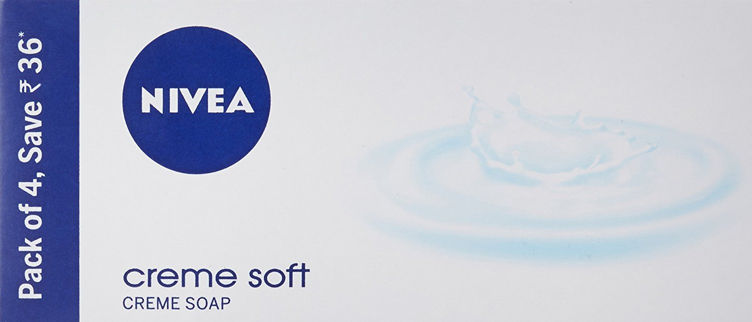 Nivea Creme Soap Normal to Dry Skin ,125gm (Pack of 4) - OMGTricks