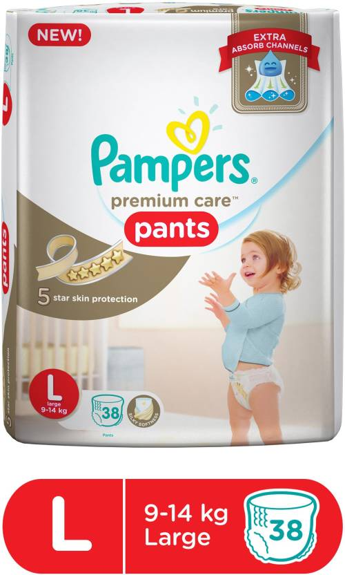 Pampers Pampers Premium Care Pants Diapers L 38 Pieces
