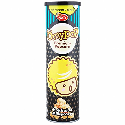 Omypop Hokkaido Milkycoco Popcorn 85g Omgtricks