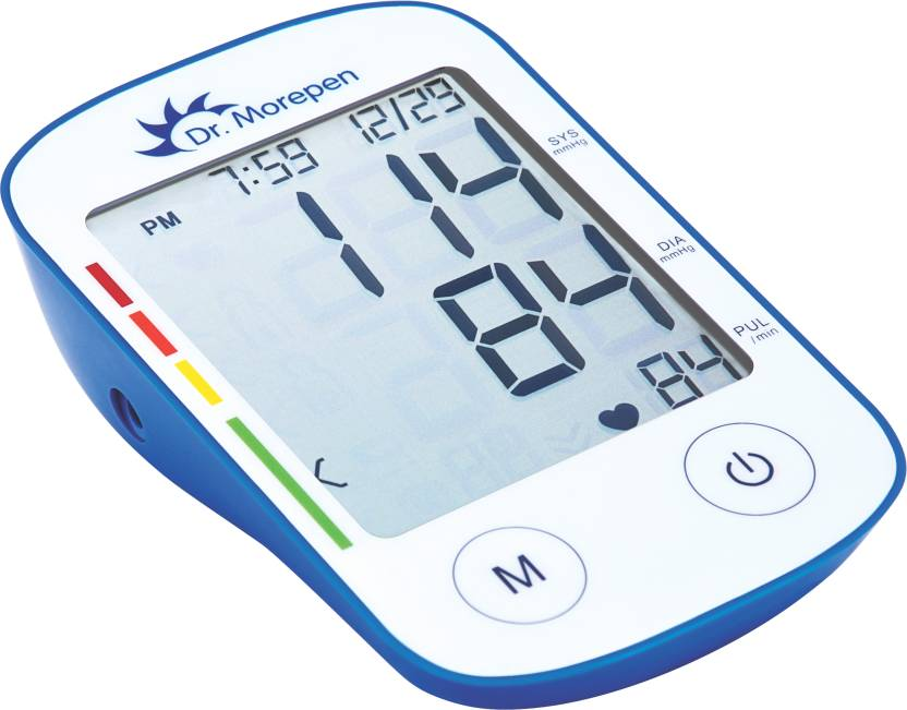 how to read bp monitor