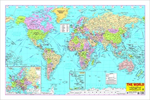 World Map Poster 2017 Omgtricks