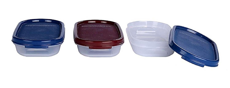 Signoraware Modular Half Oval Plastic Container Set 200ml