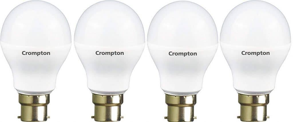 Crompton Base B22 9 Watt Led Lamp Pack Of 4 Cool Day Light Omgtricks
